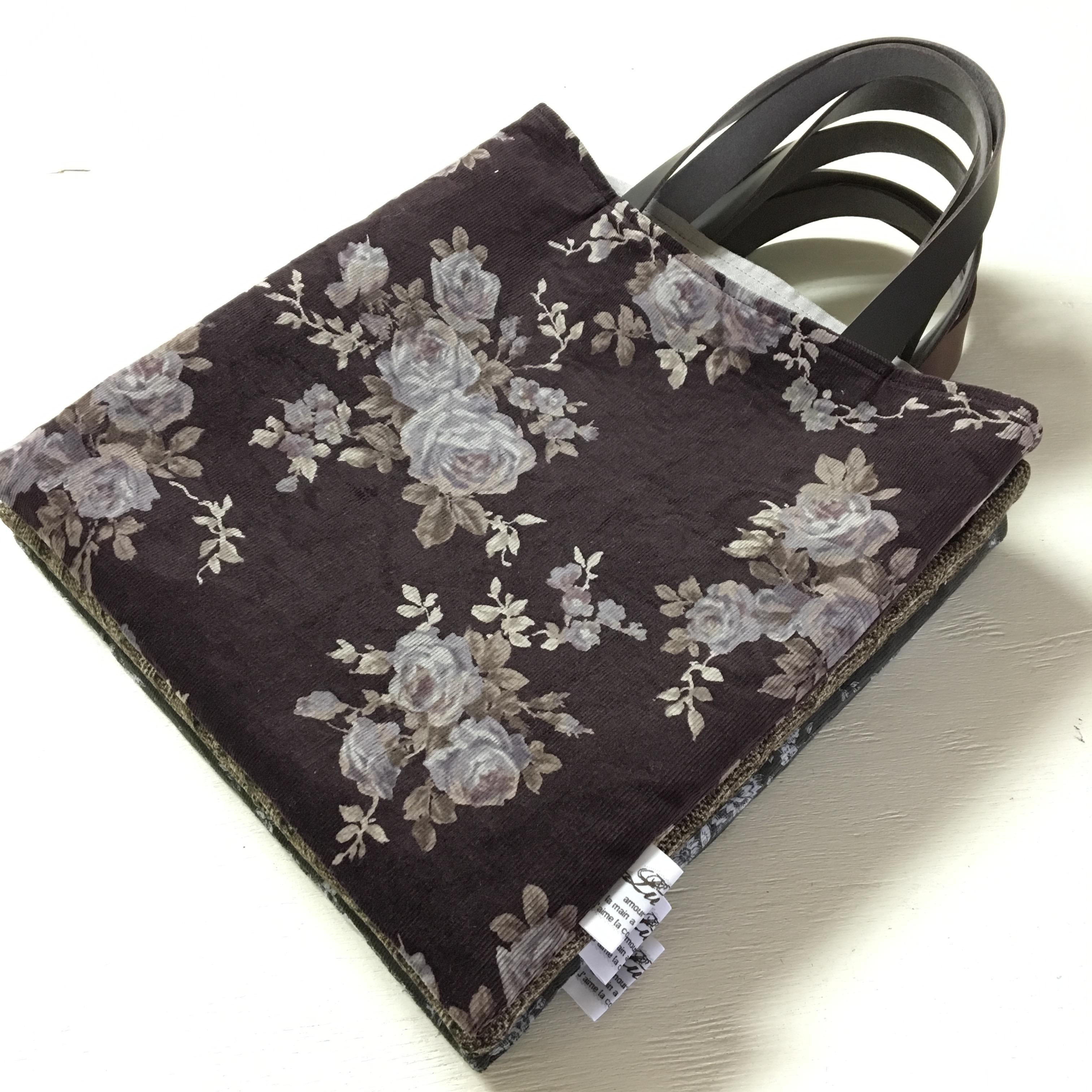 【無料型紙製図】シースタバッグの作り方