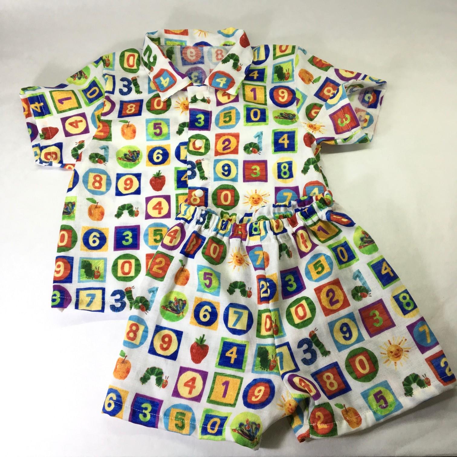 はらぺこあおむしのパジャマ☆size80