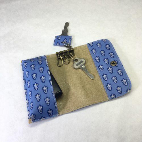 ソレイアード ハンドメイド キーケース キーホルダー 作り方 無料型紙