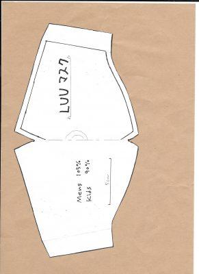 マスク無料型紙 ハンドメイドマスク LUUマスク 無料マスク型紙 立体型マスク 立体マスク マスクの作り方